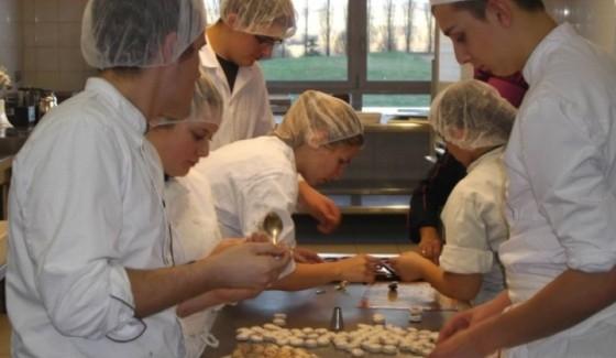 Master Class Pâtisserie au Lycée Diderot de Langres