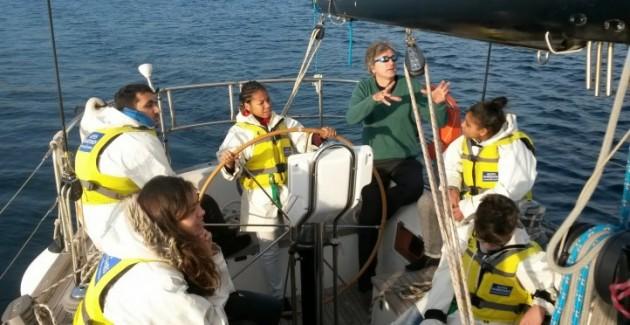 Apprendre autrement sur un voilier