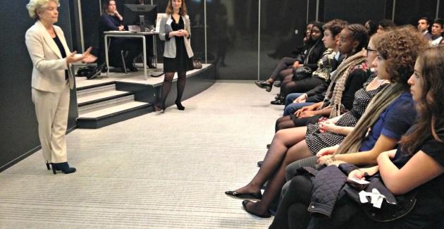 Rencontre entre tuteurs et étudiants chez EY
